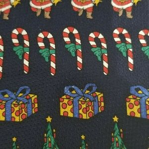 Neck Art Suits Neck tie Christmas Candy Canes